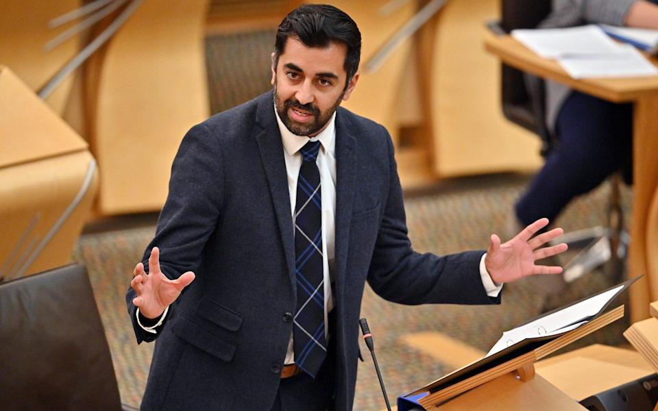 Humza Yousaf recognised that people call 999 only when they are in 'extreme distress' - Jeff J Mitchell - Pool/Getty Images