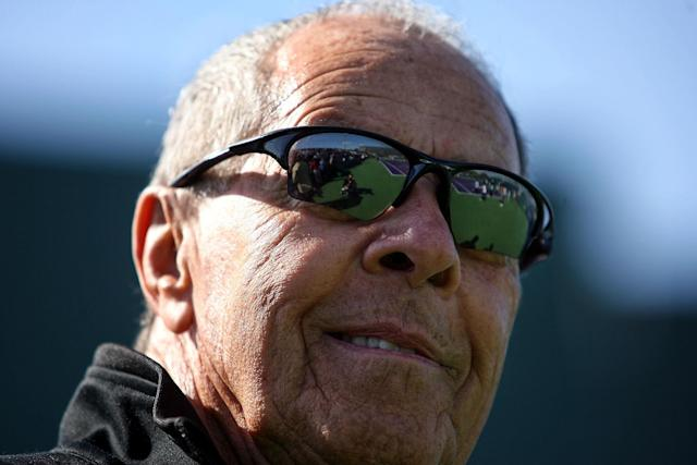 Tennis coach Nick Bollettieri in Key Biscayne, Florida on March 23, 2010 (AFP Photo/Marc Serota)