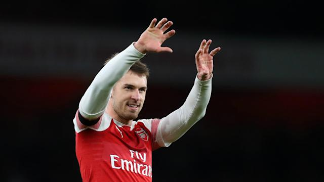 Reports in Italy suggested Juventus have agreed a deal with Aaron Ramsey but Arsenal head coach Unai Emery would not be drawn on his future.