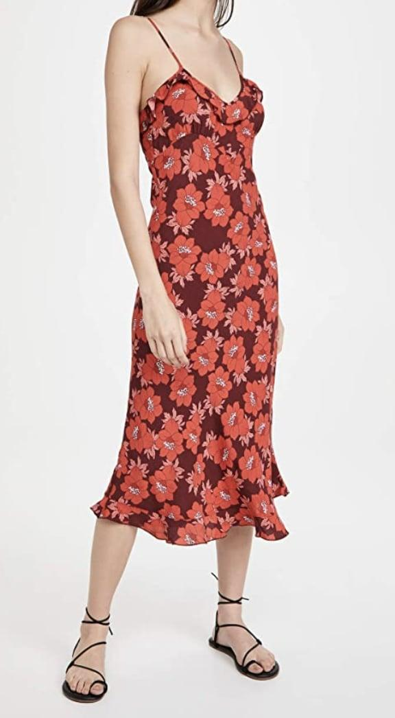<p>We love the modern silhouette of this <span>Rolla's Shelley Datura Slip Dress</span> ($129).</p>