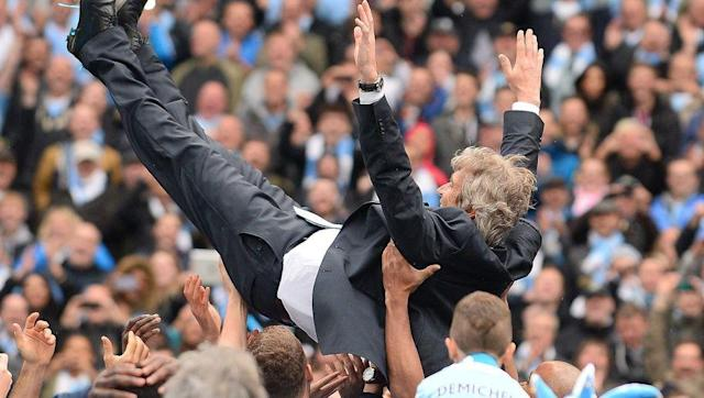 <p>Manuel Pellegrini became only the fifth manger outside of Europe to manage in the Premier League when he took over at Manchester City in June 2013. </p> <br><p>The quiet and mild-mannered Chilean set about turning the blue half of Manchester into an attacking force. By the 18th January 2014, Pellegrini's side had scored 100 goals in all competitions and it had taken them just 34 games.</p> <br><p>On the 2nd March, Manchester City secured the League Cup with a 3-1 victory over Sunderland; and in May the Etihad Stadium witnessed a 2-0 victory over West Ham to secure the League title. </p> <br><p>Pellegrini had also become the first coach outside of Europe to win the Premier League. </p>