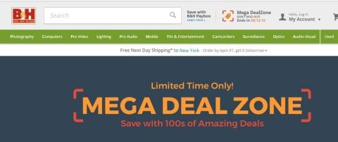 B&H Offers Incredible Savings During Mega Deal Zone Event