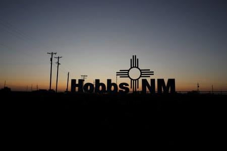 The sun rises in Hobbs