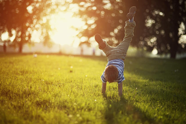 Children will miss getting outside when lockdown ends, new research has revealed. (Getty Images)