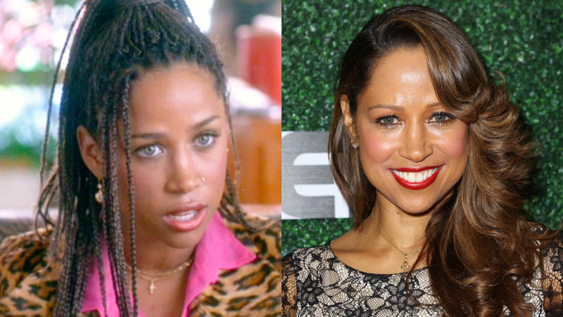 Stacey Dash in 'Clueless' and in 2020. (Credit: Paramount/CBS/JC Olivera/Getty Images)