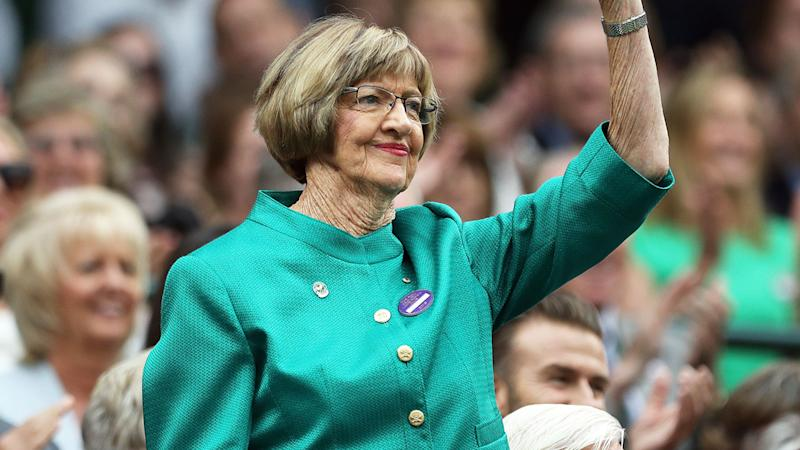 Pictured here, Aussie tennis great Margaret Court's views have often sparked controversy.