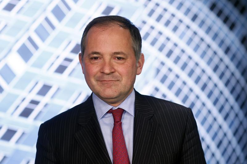 Benoit Coeure, executive board member of the European Central Bank (ECB) poses for a photo after an interview with Reuters in Frankfurt