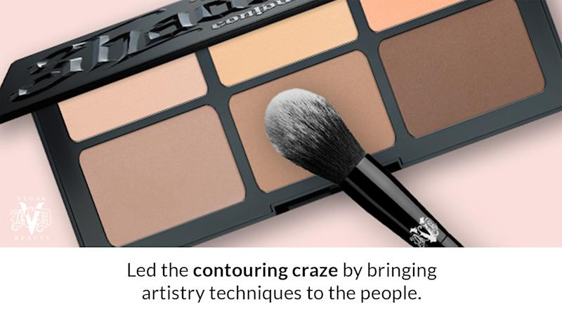 Led the contouring craze by bringing artistry techniques to the people.