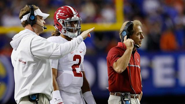 Hurts, a true freshman in 2016, struggled with his passing late in the season. Saban accepts some responsibility for that.