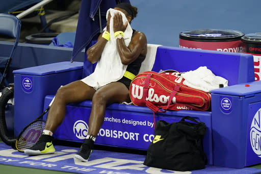 Serena Williams likens loss to 'dating a guy you know sucks'