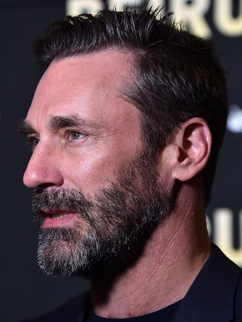 Jon Hamm Ditches His Don Draper Hair for Good