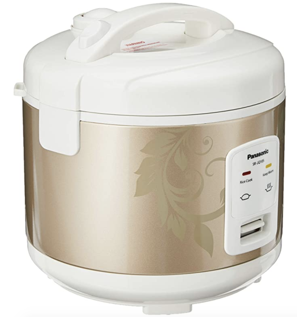 Panasonic SR-JQ105NSH Rice Cooker. (PHOTO: Amazon)