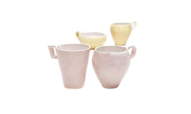 "<p>Ash Cloud pink and yellow mugs, $48 each,<a href=""http://www.abchome.com/shop/ash-cloud-for-abcv-mugs"" rel=""nofollow noopener"" target=""_blank"" data-ylk=""slk:abchome.com"" class=""link rapid-noclick-resp""> abchome.com</a> </p>"