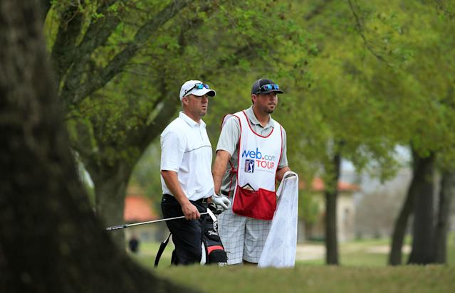 Ten years after holding the halfway lead at the Masters, Brett Wetterich finds himself on the outside looking in