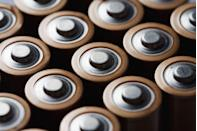 """<p>For standard batteries, like AAA or AA, it's usually cheaper and safer to buy them at a brick-and-mortar store. This topic was raised when the retail giant was <a href=""""https://www.theatlantic.com/technology/archive/2019/04/lithium-ion-batteries-amazon-are-exploding/587005/"""" rel=""""nofollow noopener"""" target=""""_blank"""" data-ylk=""""slk:in the news for exploding batteries"""" class=""""link rapid-noclick-resp"""">in the news for exploding batteries</a> in 2019.</p>"""