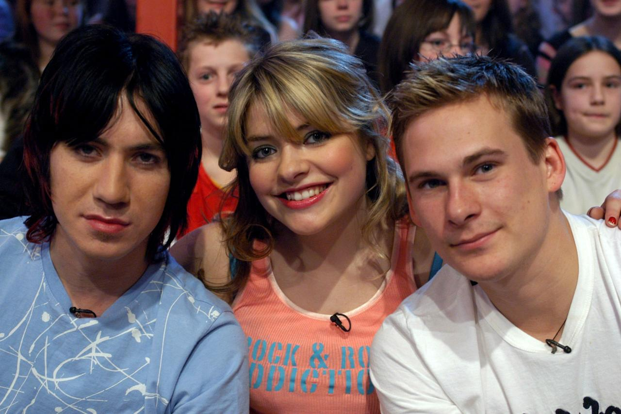 <p>Here with Tabby Callaghan and Lee Ryan. </p>