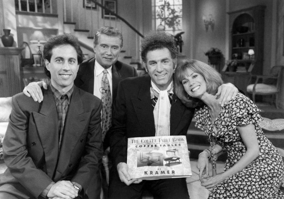 <p>The stars of <em>Live With Regis and Kathie Lee, </em>dropped by for an episode during the show's fifth season. </p>