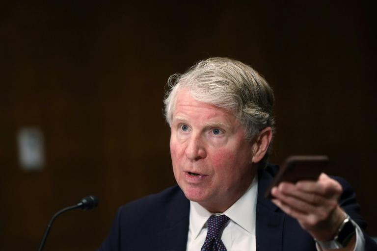 District Attorney Cyrus Vance of New York tells a congressional hearing encryption being used by big tech firms can make it impossible to get access to some evidence even with a warrant (AFP Photo/ALEX WONG)