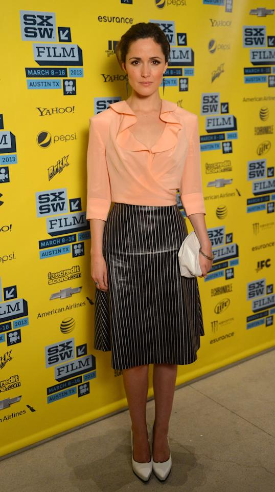 AUSTIN, TX - MARCH 09:  Actress Rose Byrne attends the 'I Give It A Year' red carpet arrivals at the 2013 SXSW Music, Film + Interactive Festival  held at the Topfer Theatre at ZACH on March 9, 2013 in Austin, Texas.  (Photo by Mark Davis/Getty Images)
