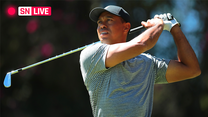 tiger woods u0026 39  score  live updates  highlights from round 1