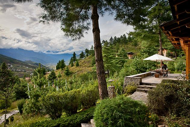 "<div class=""caption-credit""> Photo by: Courtesy of Uma by Como, Paro</div><div class=""caption-title""></div><p>  <b>Paro Valley, Bhutan  <br>  <br>  Where to Stay:</b> <a rel=""nofollow"" href=""http://www.comohotels.com/umaparo/uma-como-paro-bhutan"" target=""_blank"">Uma by Como, Paro</a>  <br>  <br>  <b>Why we love it:</b> The 29-room resort is decadent, yet culturally authentic; it's situated on a hillside with a breathtaking view of the Paro Valley  <br>  <br>  <b>What you'll do there:</b> Enjoy a picnic on a peak overlooking a mountainous enclave; relax in one of the private Bhutanese hot stone bathhouses  <br>  <br>  <b>Rates:</b> start at $700 per night for a one-bedroom villa </p>"