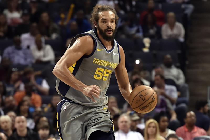 Clippers sign Joakim Noah to deal for rest of the season
