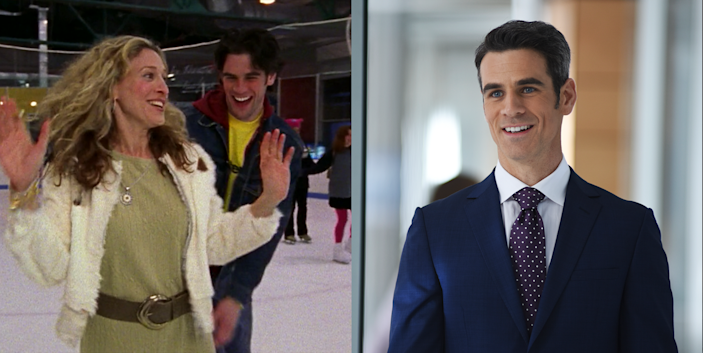 <p>Remember Sean, Carrie's fling who makes her feel young and free, until she realizes she isn't <em>actually</em> that easygoing? That was Eddie Cahill, who soon became quite the hot commodity in '90s TV shows. Eddie played Rachel's sexy assistant/lover Tag in <em>Friends </em>and went on to star in <em>CSI: NY</em> for many years.</p>