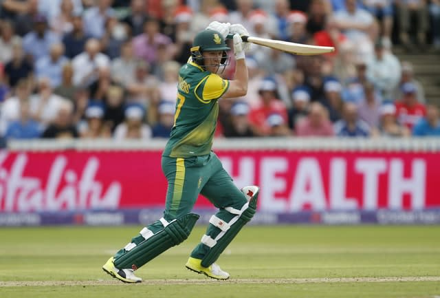 The absence of AB De Villiers is a telling blow for South Africa (Paul Harding/PA)