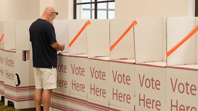 The Queensland Electoral Commission will make arrangements to deal with coronavirus at the election