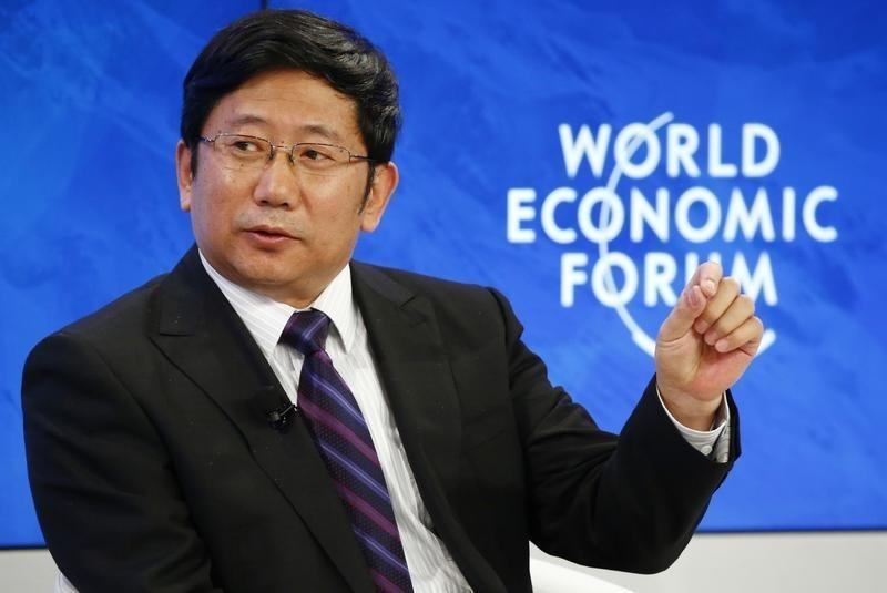 "Xu Chairman of Tsinghua Holdings attends the session ""The Future of ""Made China"""" during the Annual Meeting of the WEF in Davos"