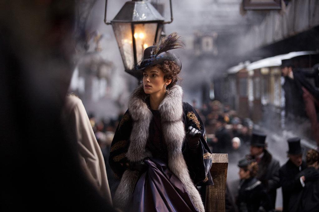 """ Anna Karenina "" Release date: November 16 Starring: Keira Knightley and Jude Law"