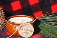 <p>The <span>Hand-Poured Wood Wick Candle</span> ($14) sounds like a fireplace crackling on a relaxing winter evening.</p>
