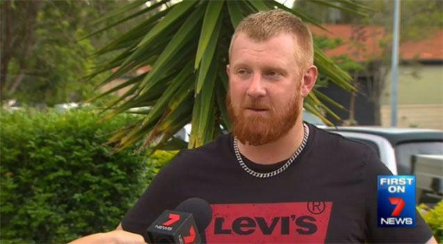 Mr Ross-Munroe said he could not abide people stealing things. Source: 7 News