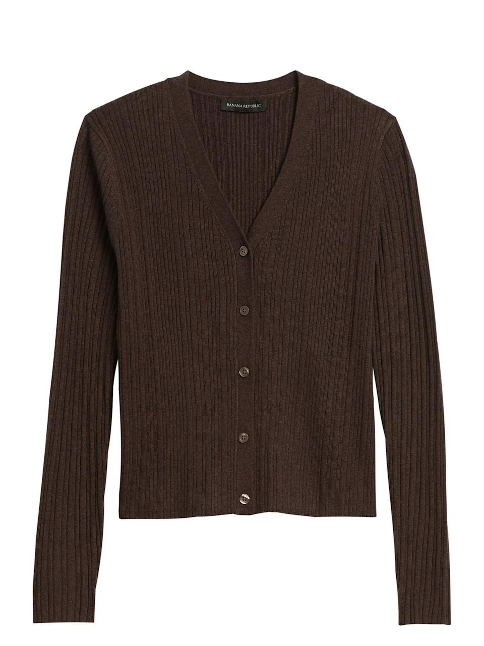 <p>This refined <span>Cropped Cardigan Sweater</span> ($71, originally $80) will quickly become a favorite. </p>