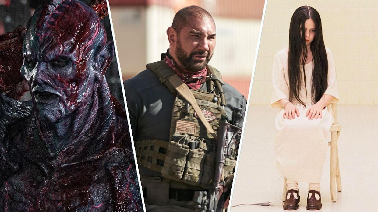 Psycho Goreman, Army of the Dead, and The Ring will make for a great horror triple bill this weekend (Shudder, Netflix, Dreamworks)