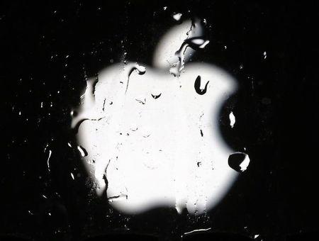 A logo of Apple is seen in an illustration photo in Sarajevo