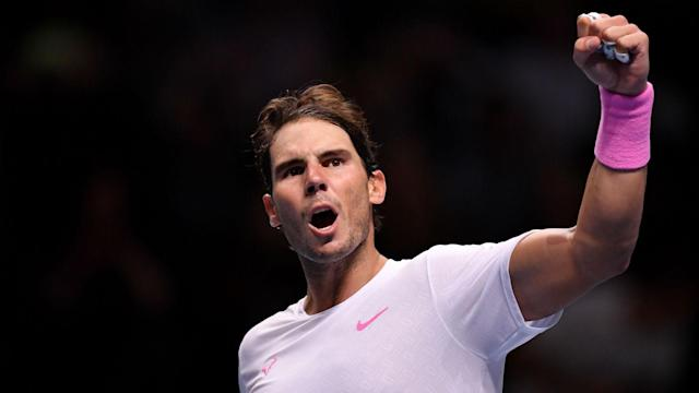 Daniil Medvedev looked destined to leave Rafael Nadal on the brink of ATP Finals elimination, but the world number one surged back to win.