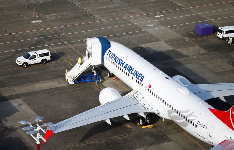 Turkish Airlines prepping case against Boeing over 737 MAX -news agency