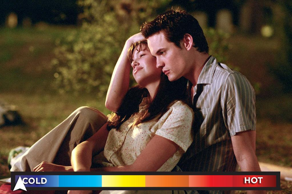 "Who: Mandy Moore & Shane West<br>Seen in: <a target=""_blank"" href=""http://movies.yahoo.com/movie/a-walk-to-remember/"">""A Walk to Remember""</a> (2002)<br><br>You'd think that when two wooden thespians make contact sparks would ignite and fiery romances would erupt. Well, that couldn't be more wrong when it comes to the performances delivered by an overreaching West and the painfully vanilla Moore in this low-rent version of <a target=""_blank"" href=""http://movies.yahoo.com/movie/love-story/"">""Love Story.""</a> It may be named ""A Walk to Remember,"" but it's truly a forgettable movie that features a bore of an amour."
