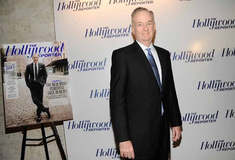 In this photograph taken by AP Images for The Hollywood Reporter Bill OReilly arrives at The Hollywood Reporter 35 Most Powerful People in Media event on Wednesday, April 11, 2012 in New York. (Evan Agostini/AP Images for The Hollywood Reporter)