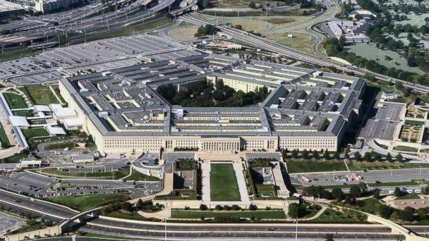 PHOTO: An aerial view of the Pentagon building photographed on Sept. 24, 2017. (Bill Clark/CQ Roll Call/Getty Images, FILE)