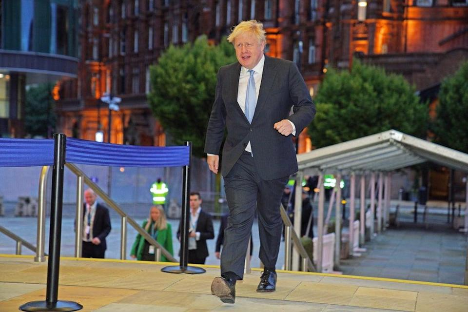 Prime Minister Boris Johnson has defended the BBC (Peter Byrne/PA) (PA Wire)