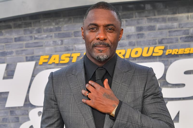 """HOLLYWOOD, CALIFORNIA - JULY 13: Idris Elba attends the premiere of Universal Pictures' """"Fast & Furious Presents: Hobbs & Shaw"""" at Dolby Theatre on July 13, 2019 in Hollywood, California. (Photo by Emma McIntyre/Getty Images)"""
