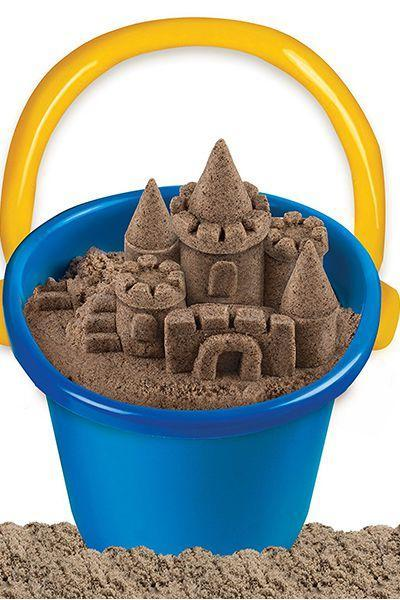 """<p>$13</p><p><a rel=""""nofollow noopener"""" href=""""https://www.amazon.com/Kinetic-Sand-6028362-Beach/dp/B019K8KIUY/ref=pd_ybh_a_10"""" target=""""_blank"""" data-ylk=""""slk:SHOP NOW"""" class=""""link rapid-noclick-resp"""">SHOP NOW</a><br></p><p>Even when Mom can't take them to the beach, they can still build sandcastles at home with kinetic sand that's specially formulated for easy cleanup. </p>"""