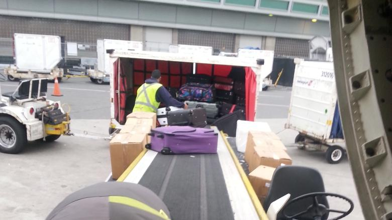 Baggage handlers' union threatens strike at Pearson airport Thursday