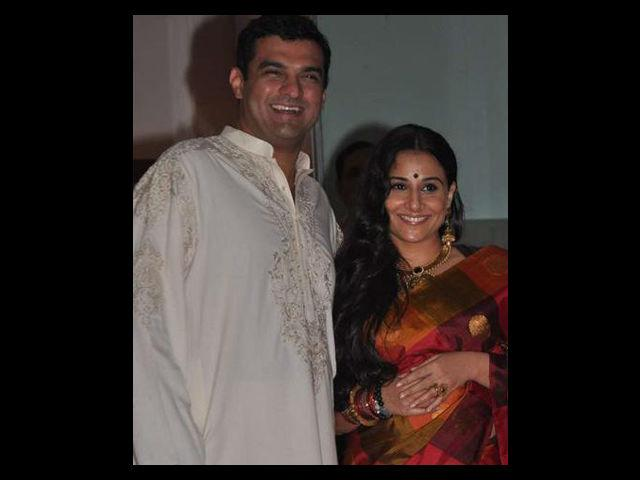 <b>2. Vidya Balan</b><br> Vidya's wedding was a non-glamorous affair sans any Bollywood celebrity. The wedding was a mix of South Indian and Punjabi traditions with little hoo-ha.