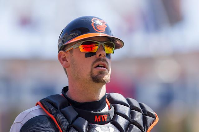 Sources: Matt Wieters expected to visit Dr. James Andrews about sore elbow