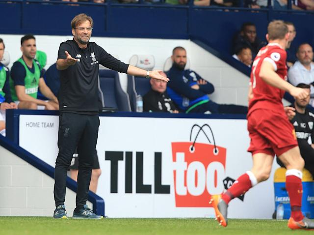 Angry Liverpool manager Jurgen Klopp criticises Hawthorns pitch and referee after West Brom draw