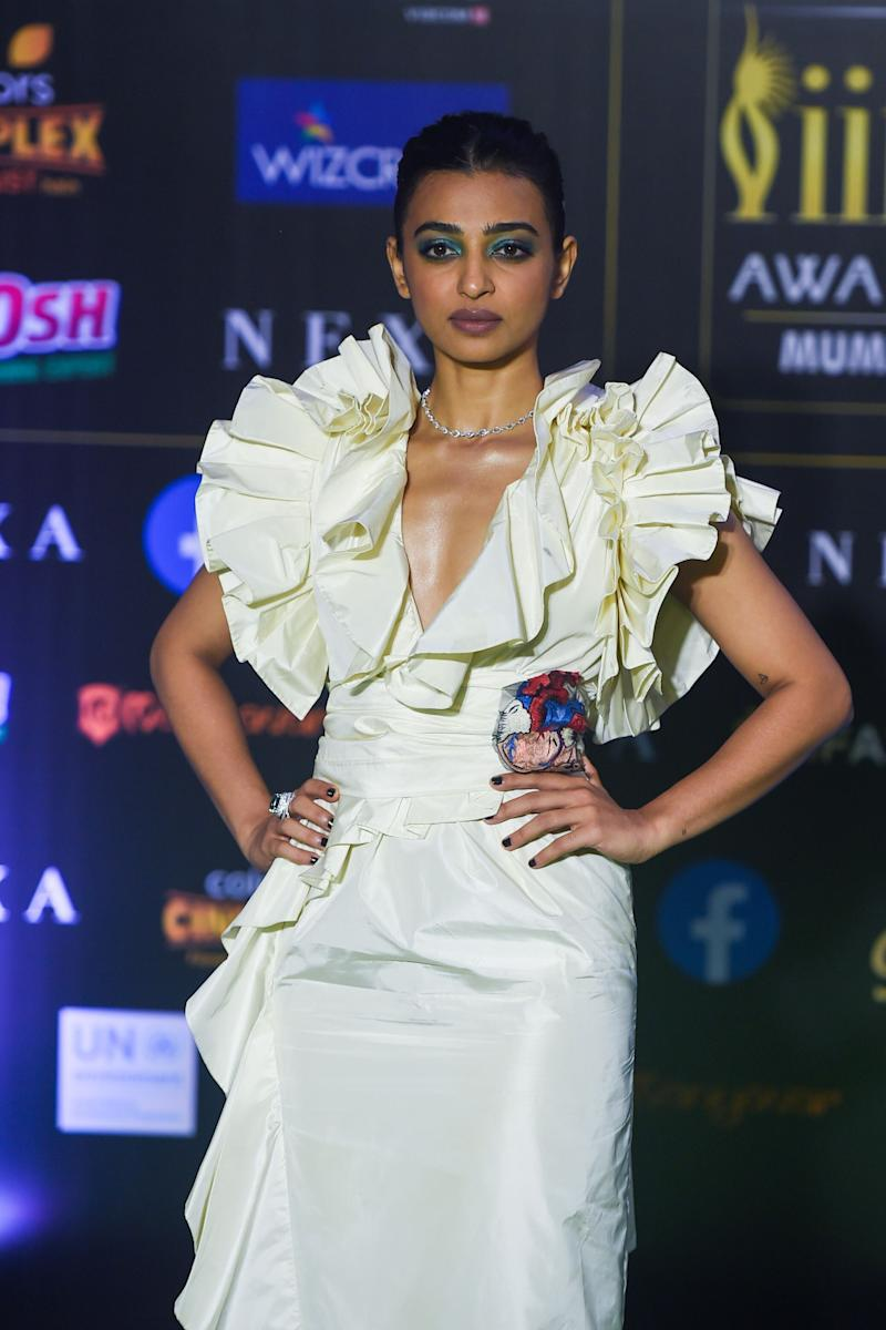 Radhika Apte at IIFA. (Photo: PUNIT PARANJPE via Getty Images)