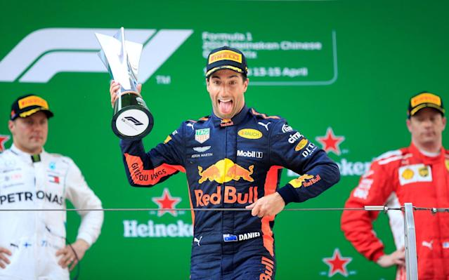 Daniel Ricciardo not only won the Grand Prix, he also topped our adjusted driver ratings.  - REUTERS
